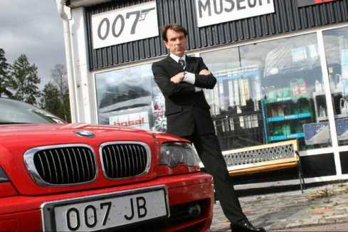 James Bond 007 Museum closed for holiday 29/6-5/7