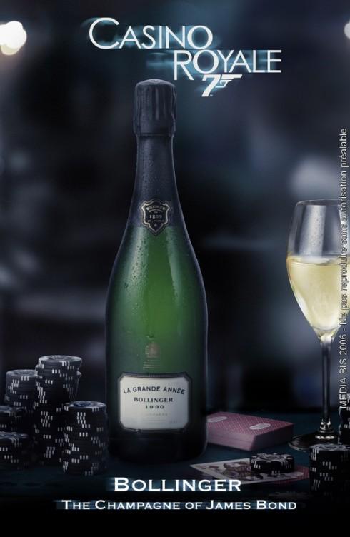 Agent 007:s val av champagne