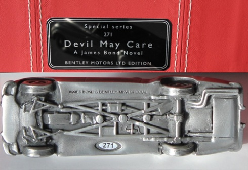 Devil May Care Bentley – Special Series Edition