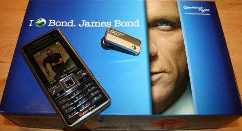 Sony Ericsson unveils James Bond's latest phone