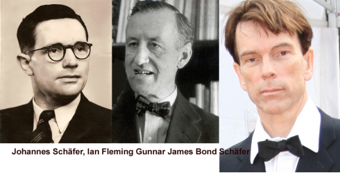 Swede Gunnar Schäfer changes name to James Bond to honor his father Johannes and Ian Fleming