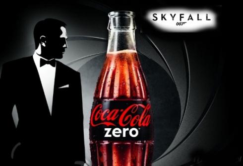 Coca Cola Zero Seven partners James Bond for Skyfall