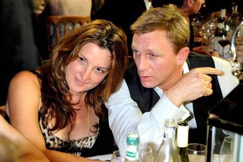 A strong bond: Daniel Craig with Barbara Broccoli in 2008