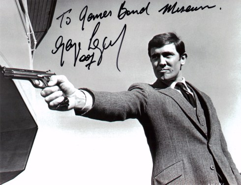 George Lazenby James Bond 007 museum
