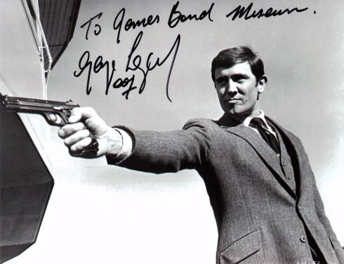 George Lazenby James Bond 007 museum