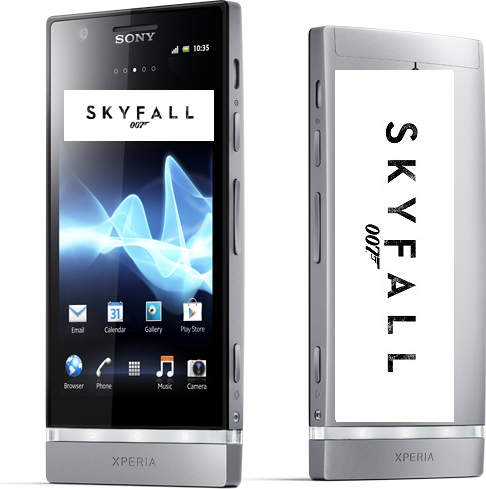 Sony Xperia T is James Bond phone in Skyfall,