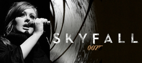 Adele sing the theme song for the next James Bond movie, Skyfall.
