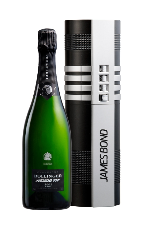 30,000 bottles of Bollinger's 002 for 007 have been produced