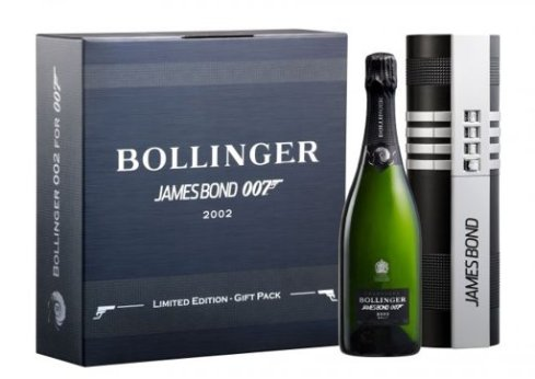 Bollinger champagne pays tribute to James Bond 007