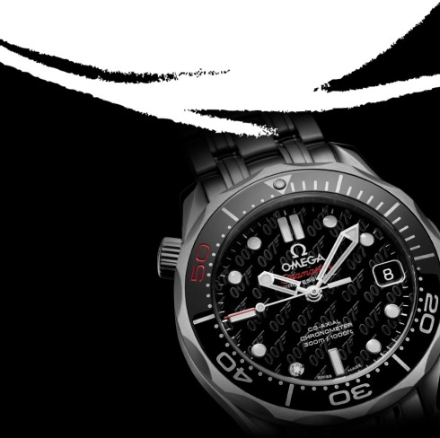 Skyfall James Bond 007 50th Anniversary Omega  Seamaster