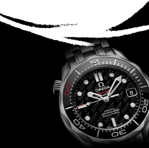 Skyfall James Bond 007 50th Anniversary Omega  Seamaster