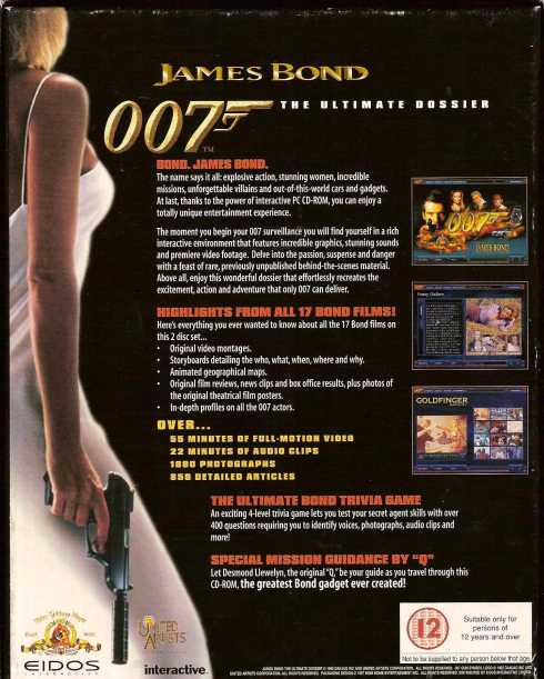 The Ultimate James Bond An Interactive Dossier Computer PC in James Bond 007 Museum