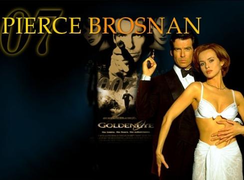 Pierce Brosnan Izabella Scorupco Goldeneye