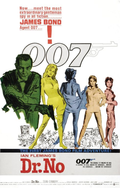 Global James Bond Day.  Friday October 5th, 1962-2012  50th anniversary of the James Bond film franchise.