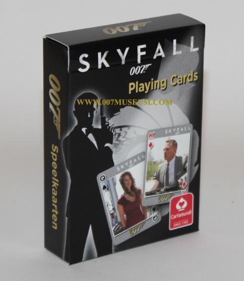 skyfall cartamundi playing cards