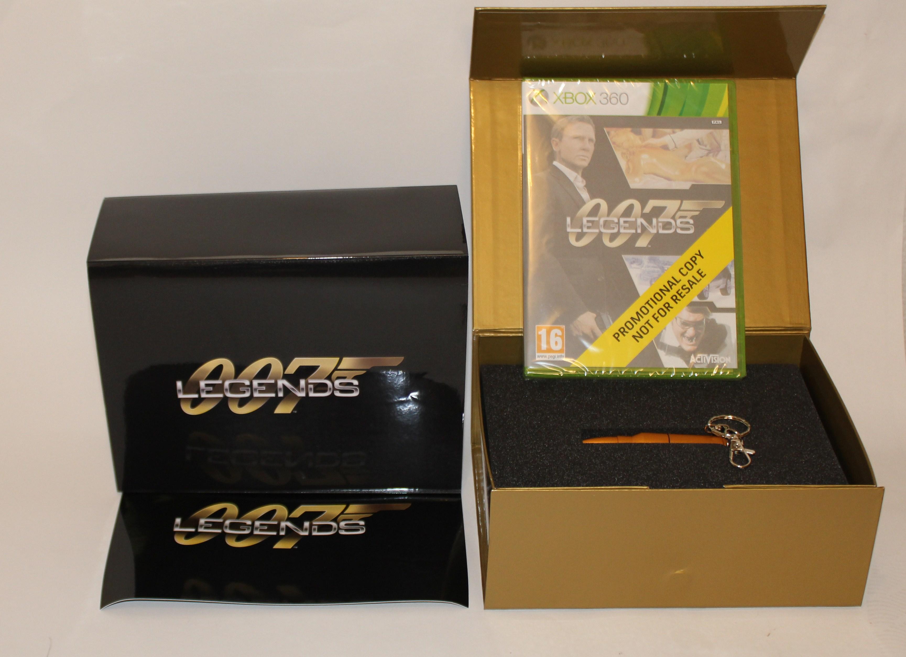 007 Legends med en Patron och ett 1,88 Gb USB minne XBOX 360 och PS3