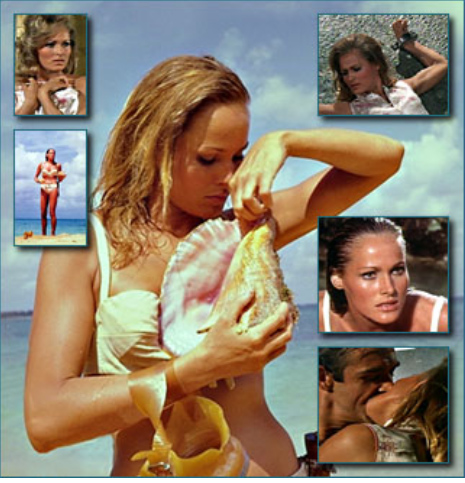Honey Ryder (Ursula Andress) Dr No 1962
