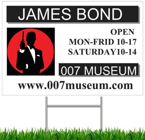 007 museum sign 2013