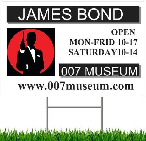 007 museum sign 2013