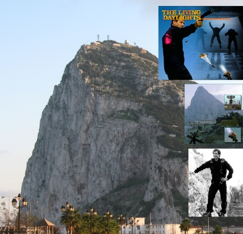 The Living Daylights location: the training exercise: Rock of Gibraltar