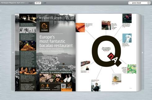 Norwegian inflight magazine april 2013