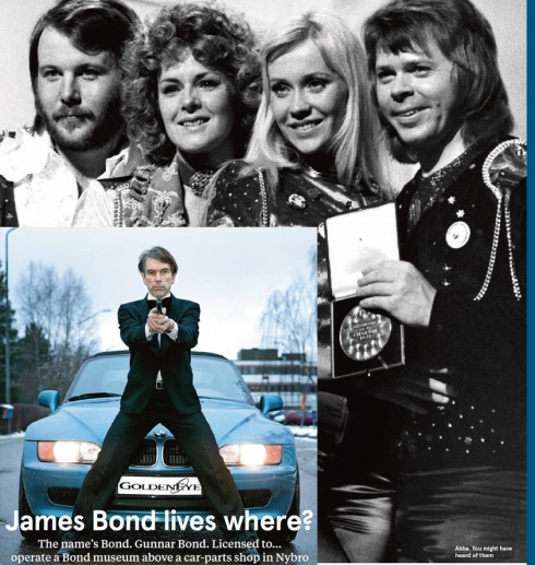 ABBA  JAMNES BOND MUSEUM