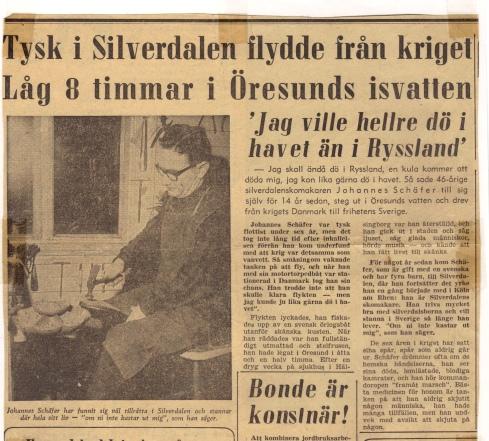 Tysk i Silverdalen flydde från kriget.