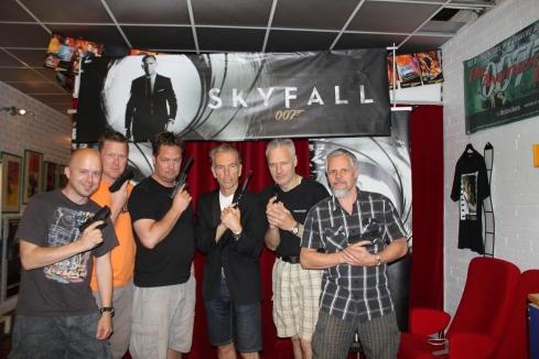 Black Jack kultbandet från filmen Black Jack på besök  lördag 13 juli till James Bond 007 Museet i Nybro Sweden