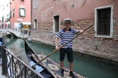 James Bond Mr Gunnar Schäfer Try to be a Gondolier in Venice...