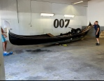 Sweden's first gondola from Venice to James Bond Museum in Nybro world's only James Bond museum has now grown again...