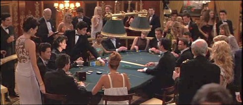 From movie Goldeneye 1995 at the Casino in Monte Carlo
