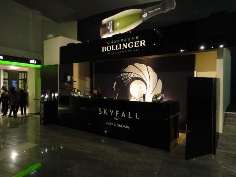 Bollinger Skyfall bar