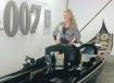 Kristina Wayborn James Bond 007 Museum Nybro Sweden gondol som användes i James Bond-filmen Moonraker