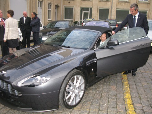 British Chamber of Commerce in Denmark visit by James Bond