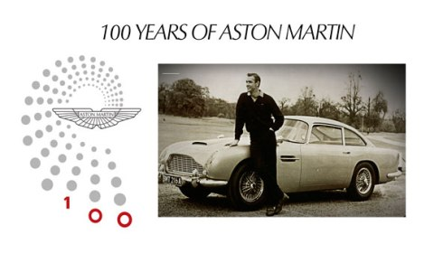 Aston Martin 100year British Chamber of Commerce in Denmark visit by James Bond