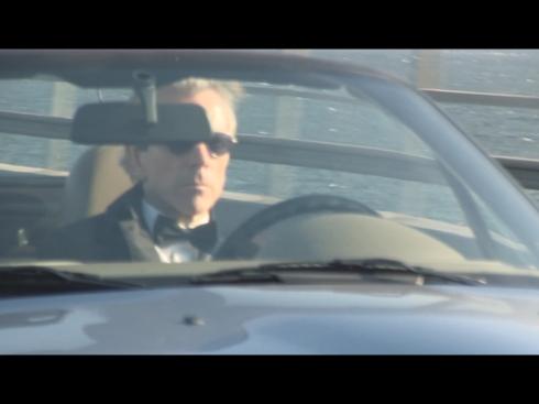 Ölandsbron med James Bond i BMW Z3