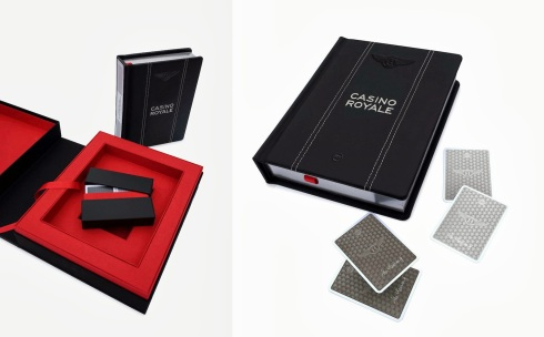 Casino Royale Ian Fleming novel, Bentley team up for €750 special edition of 'Casino Royale'
