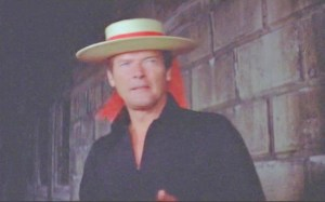 Roger Moore James Bond used the Gondolier Hat in a scene from Venice in the Bond movie  Moonraker 1979