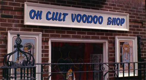 Live and let die, James  Bond movie 1973, todays oh cult voodoo shop in New York