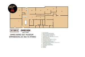 New map for The James Bond Museum